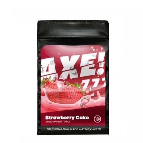 Axe 777 for Juul Strawberry Cake 60 mg