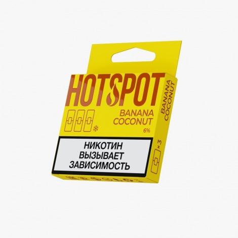 HotSpot for Juul Banana Coconut 50 mg x3