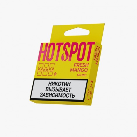 HotSpot for Juul Fresh Mango 50 mg x3