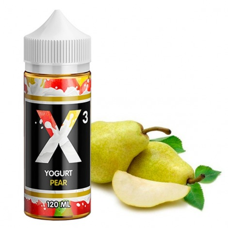 X-3 Yoghurt Pear 120 ml
