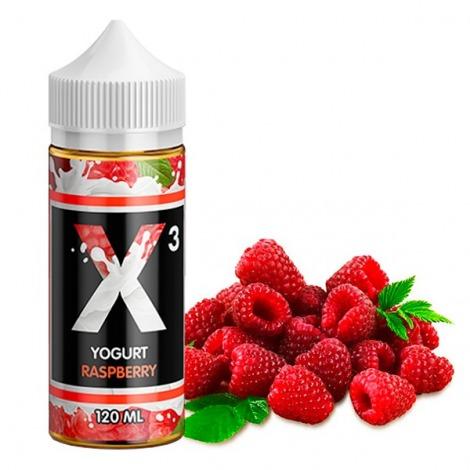 X-3 Yoghurt Raspberry 120 ml