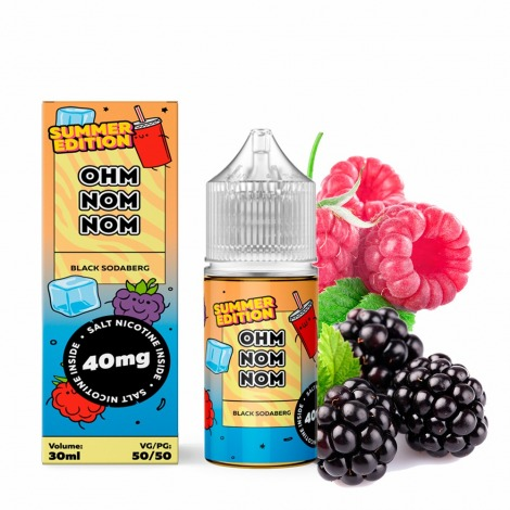 Ohm Summer Salt Black Sodaberg 30 ml