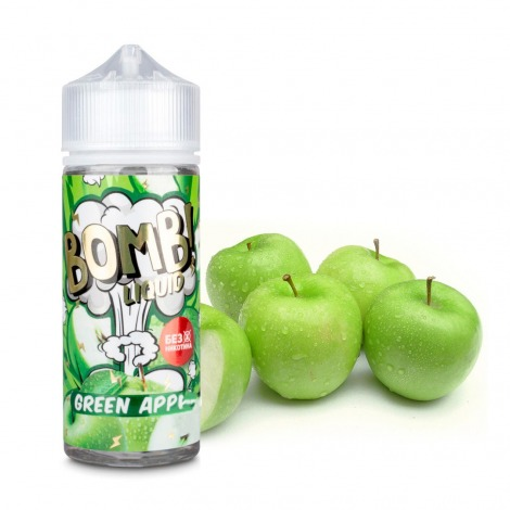 Bomb! Green Apple 120 ml