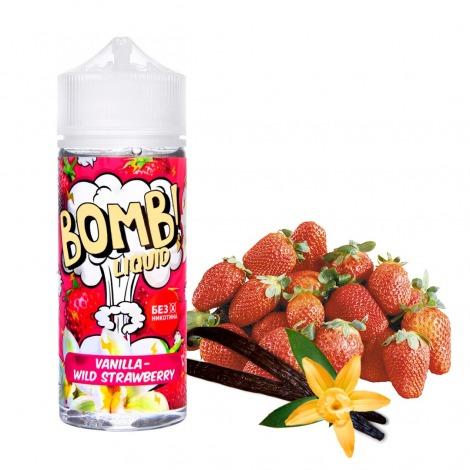 Bomb! Vanilla Wild Strawberry 120 мл