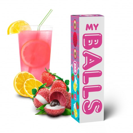 Balls Lychee Strawberry Lemonade 60 ml