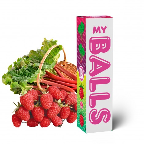 Balls Rhubarb Raspberry 60 ml