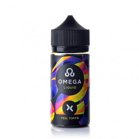 Omega X Salt Feel Toffie 100 ml