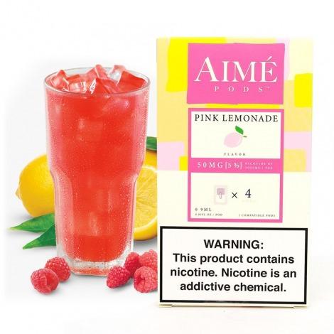 Aime Pods par Juul Pink Lemonade 50 mg