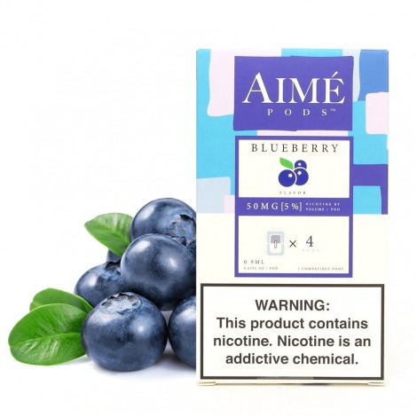 Aime Pods for Juul Blueberry 50 mg x4